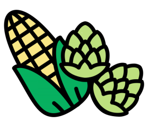 Corn and hops
